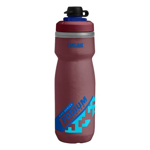 Podium Chill Dirt Series thermal drinks bottle with protective cap 620 ml