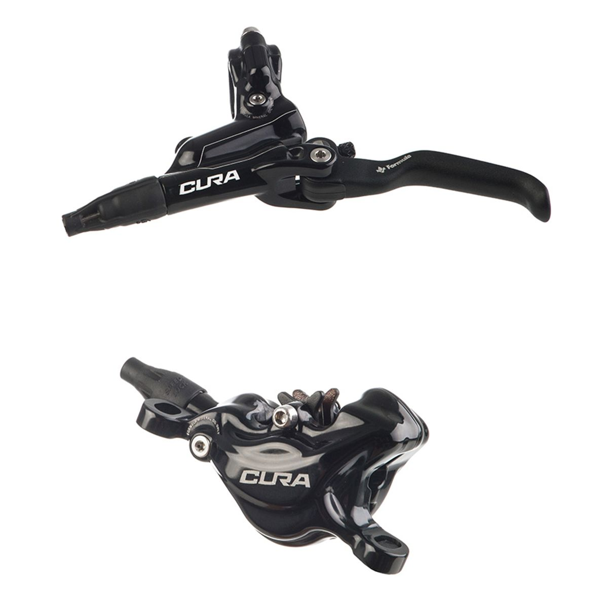 Cura front or rear wheel 2-piston disc brake