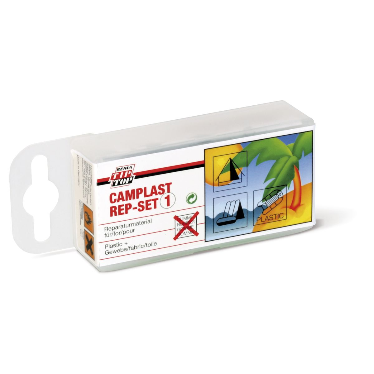 Camplast Mini puncture repair kit