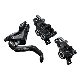 MT Trail Sport front and rear disc brake
