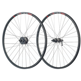 "hybrid wheels 28""/700C DT Swiss 545D Disc / Shimano Deore DH-3D37 Disc hub dynamo, Deore FH-M6000"